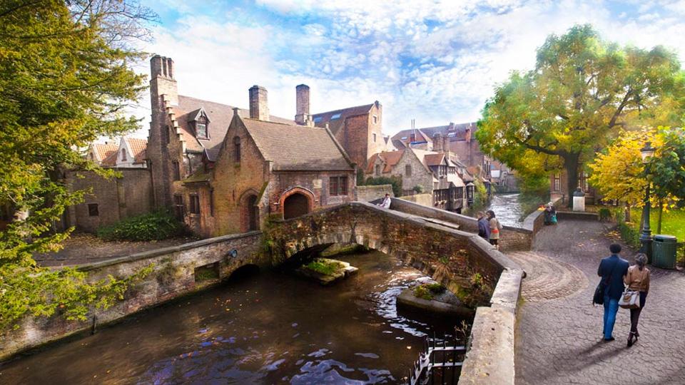 Viajando a Brujas el corazón de Bélgica